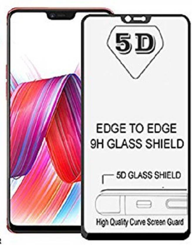 Novo Style Tempered Glass Guard For Vivo V9 5d Curved Anti Bubble