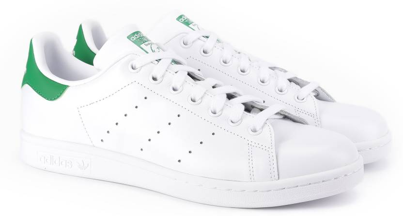 info for a0332 8ab2d ADIDAS ORIGINALS STAN SMITH Sneakers For Men (White)