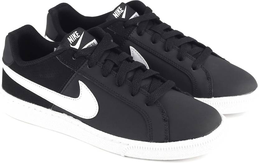 dbbb799ce Nike WMNS NIKE COURT ROYALE Sneakers For Women - Buy BLACK/WHITE ...