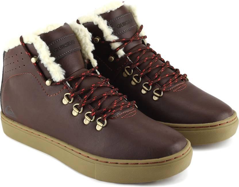 39bba39927 Quiksilver JAX Casuals For Men - Buy BROWN/BROWN/BROWN Color ...
