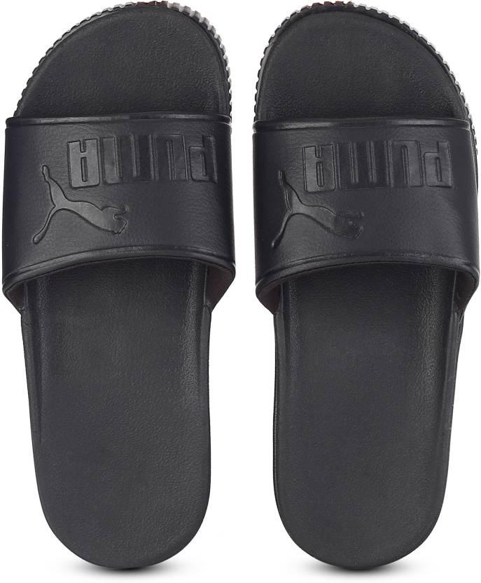 835fb7a4fbf Puma Platform Slide Bold Wns Slides - Buy Puma Black-Puma Black Color Puma  Platform Slide Bold Wns Slides Online at Best Price - Shop Online for  Footwears ...