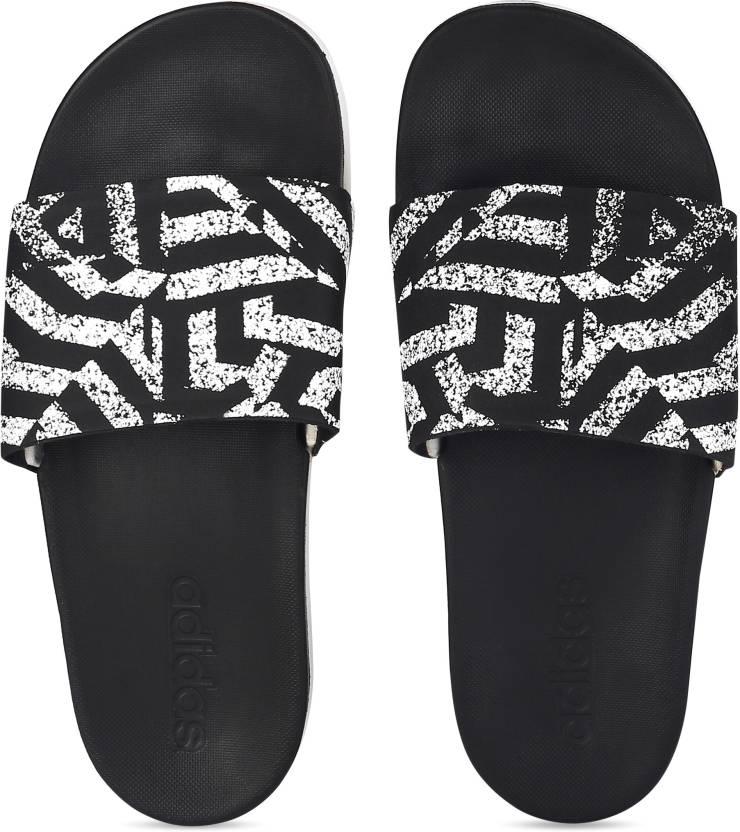 ca7362e6d3d4 ADIDAS ADILETTE CF+ LINK GR W Slides - Buy CBLACK FTWWHT CBLACK Color ADIDAS  ADILETTE CF+ LINK GR W Slides Online at Best Price - Shop Online for  Footwears ...