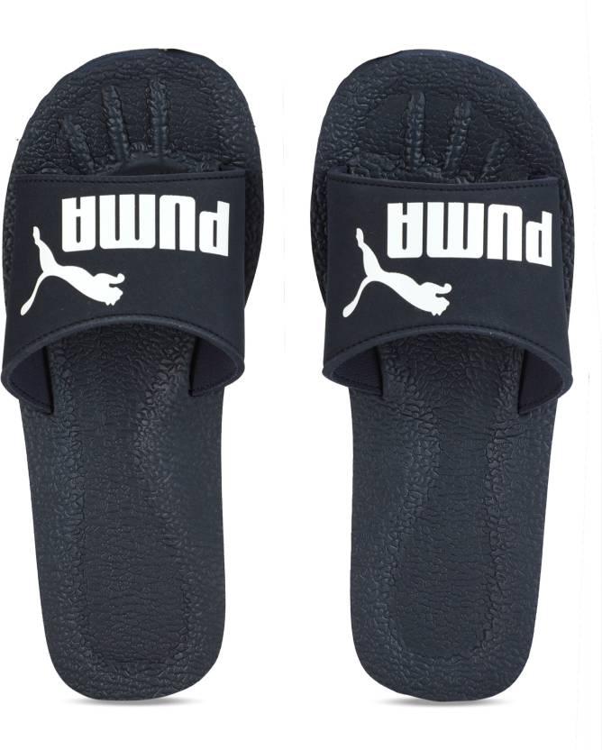 0ede3c39c8b2 Puma Purecat Slides - Buy peacoat-white Color Puma Purecat Slides Online at  Best Price - Shop Online for Footwears in India