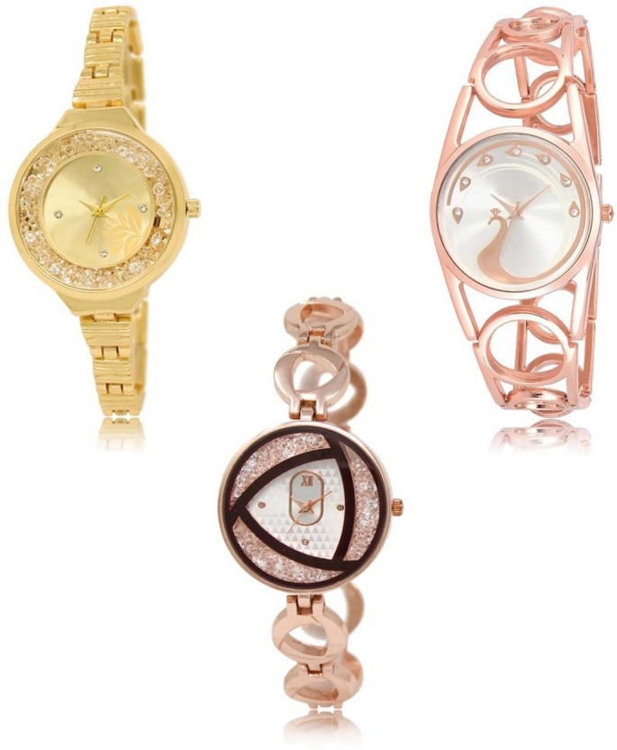 Free shipping stylish brand modern Down Jacket Neutron Modern Stylish Flower And Peacock Gold Color Watch Combo gl224gl232gl238 For Girls And Women New Unique Combo Watch For Girls Buy Neutron Flipkart Neutron Modern Stylish Flower And Peacock Gold Color Watch Combo