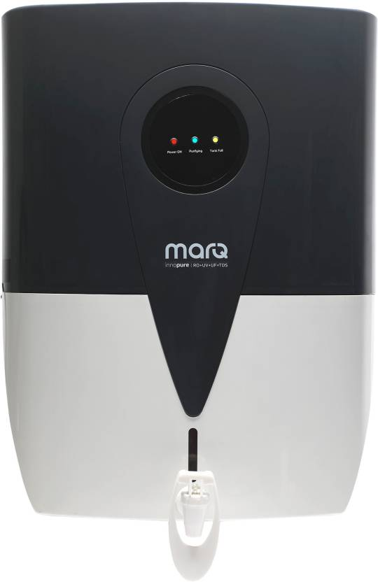 MarQ by Flipkart MQWPROTDSE10L 10 L RO + UV + UF + TDS Water Purifier  (Grey, White) at Flipkart ₹7,649