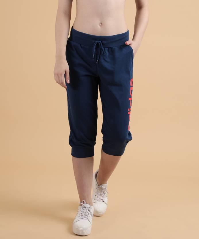 ADIDAS Slim Women s Blue Capri - Buy MYSBLU ENERGY ADIDAS Slim ... b475b3f835