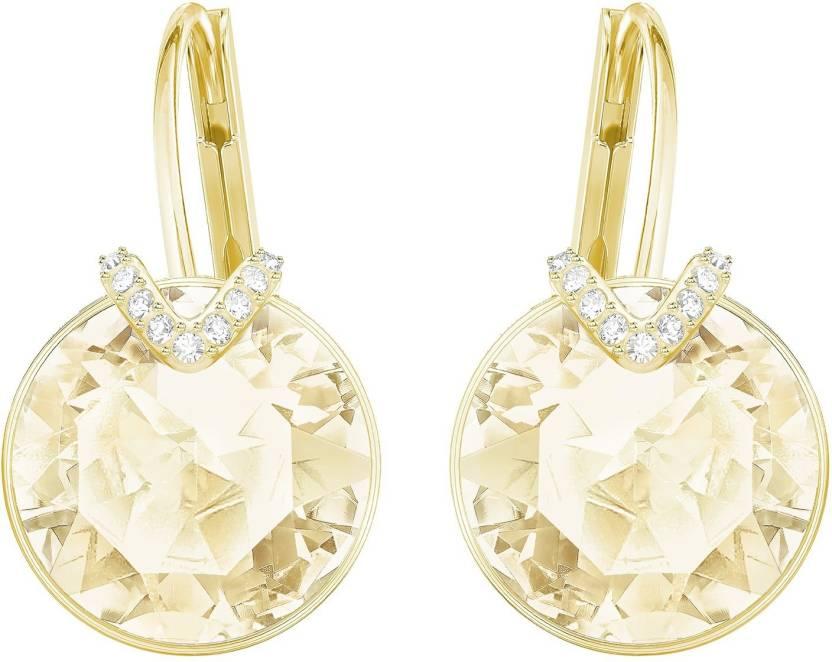 4d76796eb Flipkart.com - Buy Swarovski 5353214, Bella Pierced Earrings Large Metal  Earring Set Online at Best Prices in India