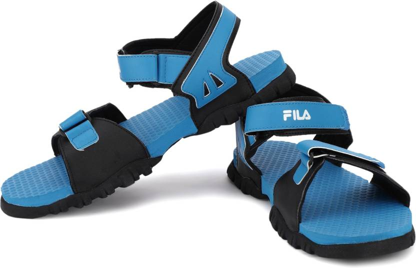885e3968b71d Fila Men RYL BLU BLK Sports Sandals - Buy Fila Men RYL BLU BLK Sports  Sandals Online at Best Price - Shop Online for Footwears in India