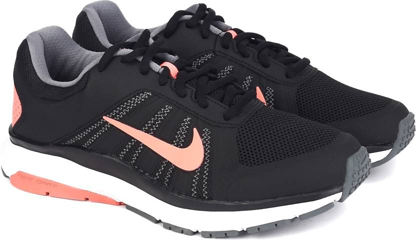 def6ff7cfdb Nike WMNS DART 12 MSL Running Shoes For Women - Buy BLACK LAVA GLOW ...