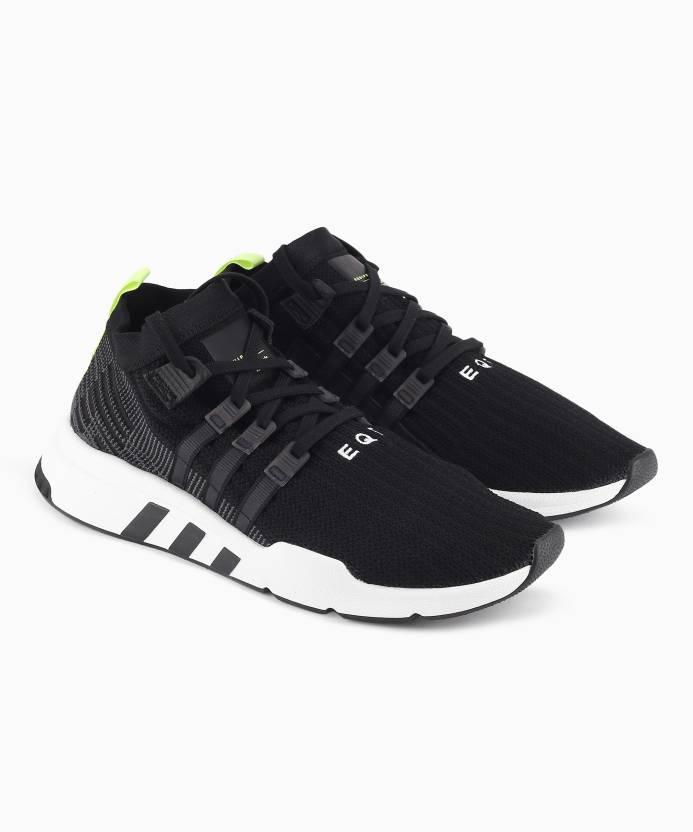 online retailer 2369f a3d40 ADIDAS ORIGINALS EQT SUPPORT MID ADV PK Sneakers For Men (Black)
