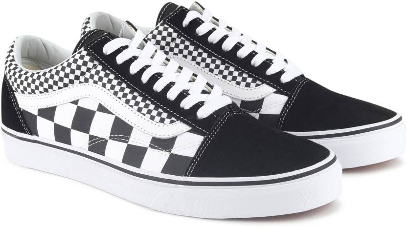dc3f66d0f7 Vans Old Skool Sneakers For Men - Buy (Mix Checker) Black True White ...