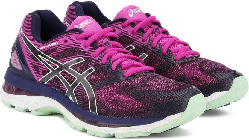 separation shoes 57bf5 34f89 Asics GEL-NIMBUS 19 Running Shoes For Women - Buy INDG BL ...