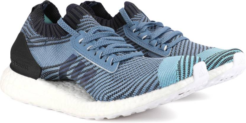 size 40 82cbb 15559 ADIDAS ULTRABOOST X PARLEY Running Shoes For Women (Blue, Black)