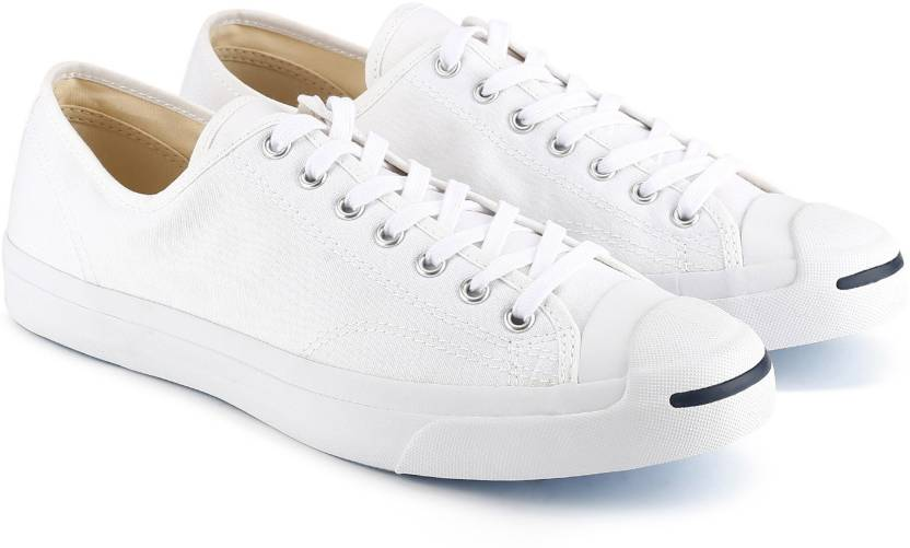 Converse Jack Purcell Casuals For Men - Buy WHITE Color Converse ... cba4b7d3d