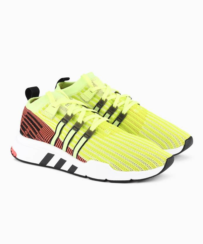 low priced 00fef 0ea79 ADIDAS ORIGINALS EQT SUPPORT MID ADV PK Sneakers For Men (Green)