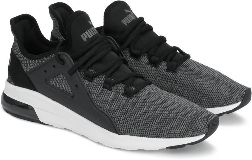 d6c05511a0b Puma Electron Street Knit Sneakers For Men (Black