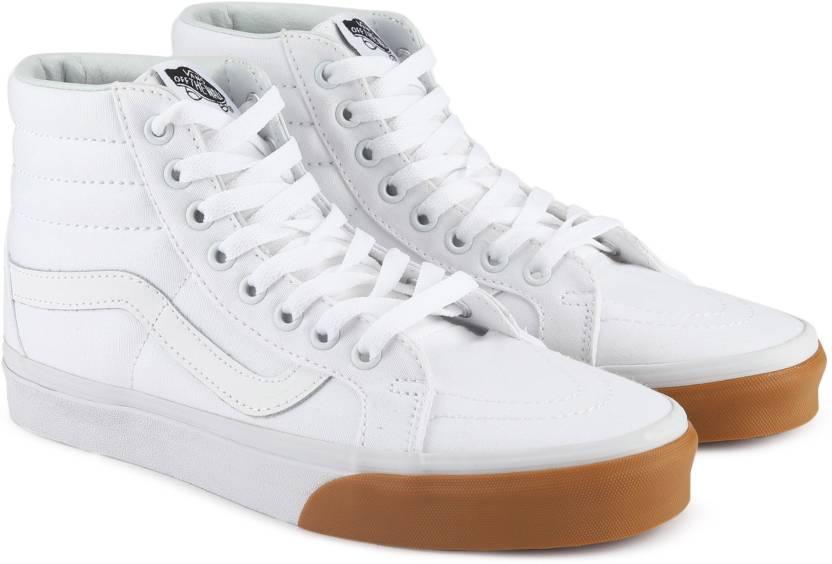 f3a657391af Vans SK8-Hi Reissue Sneakers For Men - Buy (Gum Bumper) true white ...