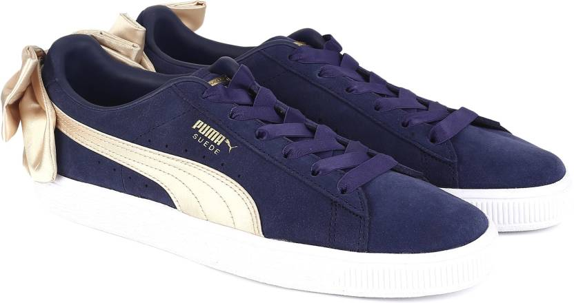 b6c94672e0bd40 Puma Suede Bow Varsity Wn s Sneakers For Women - Buy Peacoat ...