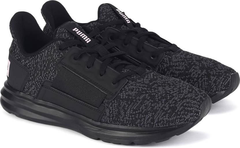 bfe0601e7ce Puma Enzo Street Knit Interest Wn s Training   Gym Shoes For Women (Black
