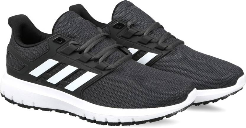 sports shoes 2094d 46629 ADIDAS ENERGY CLOUD 2 Running Shoes For Men (Black)
