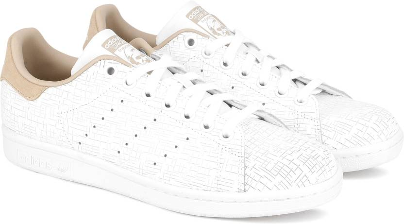 sale retailer 5af4c 978d2 ADIDAS ORIGINALS STAN SMITH W Sneakers For Women (White)