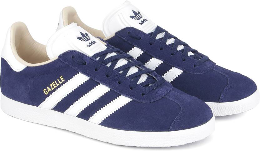 promo code 342ad d07ea ADIDAS ORIGINALS GAZELLE W Sneakers For Women (Navy)