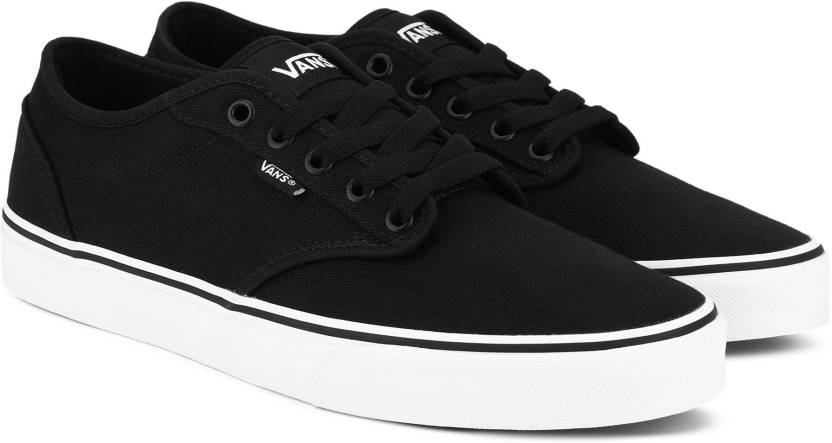 3216dd01293 Vans Atwood Canvas Shoe For Men - Buy (Canvas) Black White Color ...