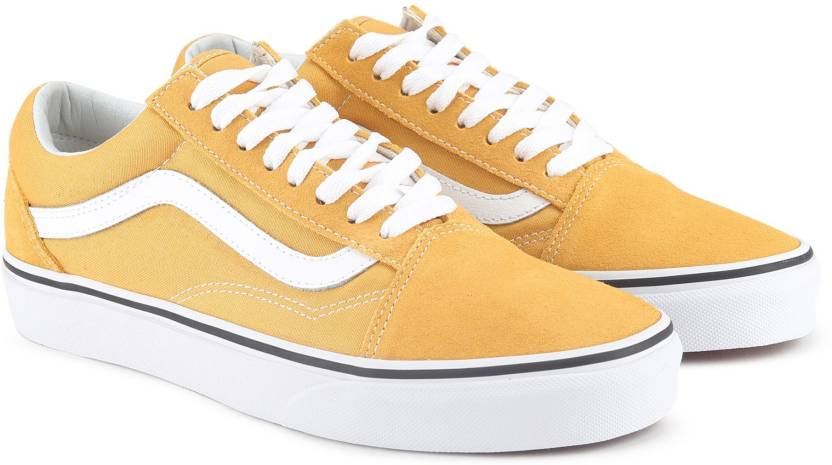 d5b5876ef2e83c Vans Old Skool Sneakers For Men - Buy ochre true white Color Vans ...