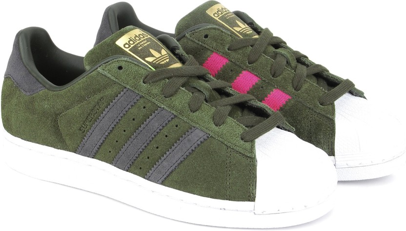 huge discount 49258 eaa7f real adidas superstar olive green zone 7a55d 593c5