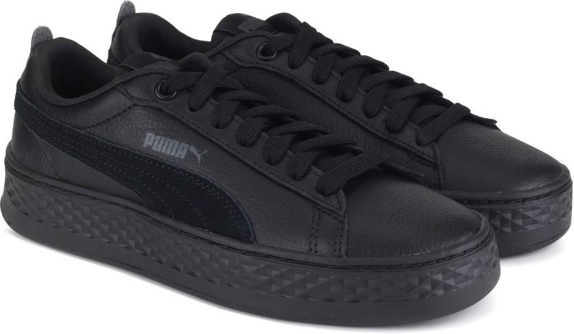 79ac2a75c31a Puma Puma Smash Platform L Sneakers For Women - Buy Puma Black-Puma ...