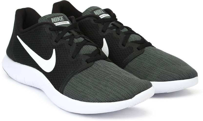 separation shoes d7216 608c1 Nike FLEX CONTACT 2 Running Shoe For Men (Black, Grey)