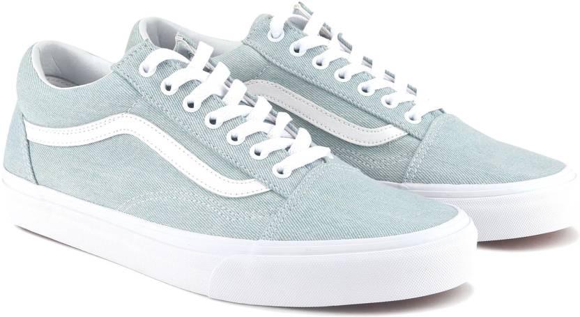 aa2bc38d058 Vans Old Skool Sneakers For Men - Buy (Denim) baby blue Color Vans ...