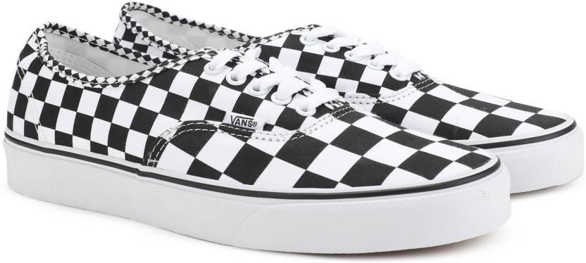 0d9a6d8babe3 Vans Authentic Sneakers For Men - Buy (Mix Checker) Black True White ...