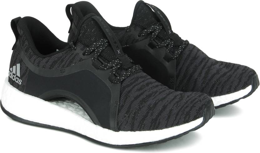 innovative design 481c9 57e76 ADIDAS PUREBOOST X Running Shoes For Women (Black)