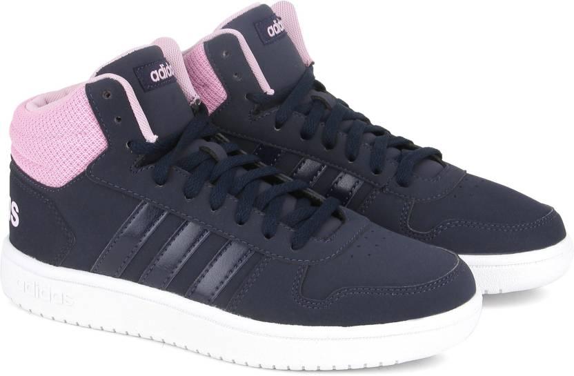 0c143f6f95c7 ADIDAS HOOPS 2.0 MID Basketball Shoe For Women - Buy CONAVY CONAVY ...