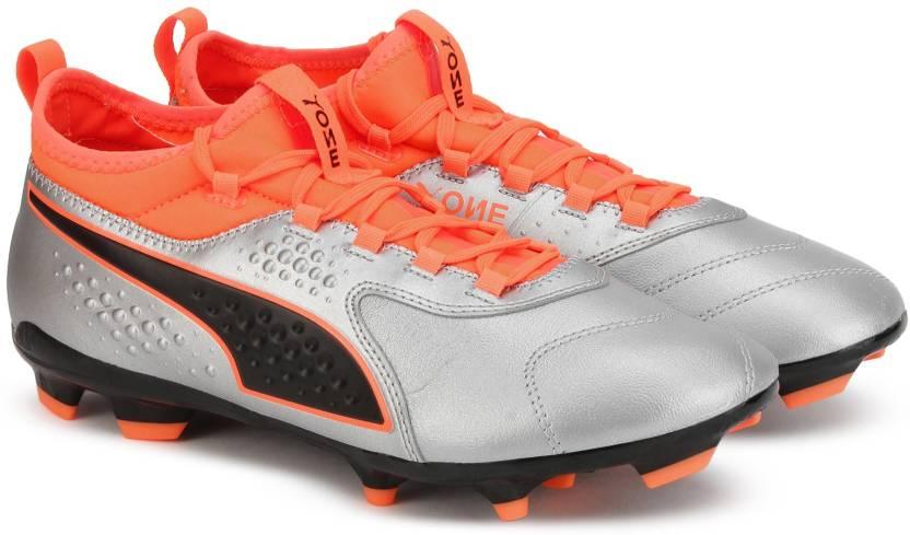dee6fe99e02 Puma PUMA ONE 3 Lth FG Football Shoes For Men - Buy Puma PUMA ONE 3 ...
