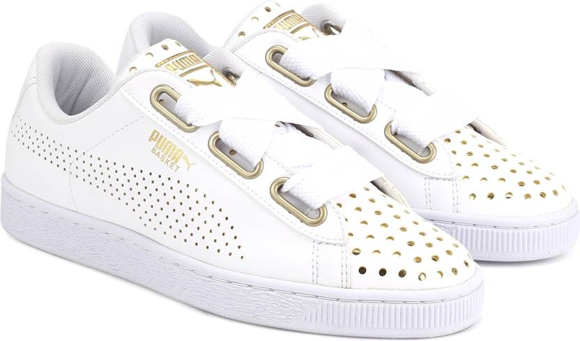 premium selection 7f4f1 f816d Puma Basket Heart Ath Lux Wn's Sneakers For Women