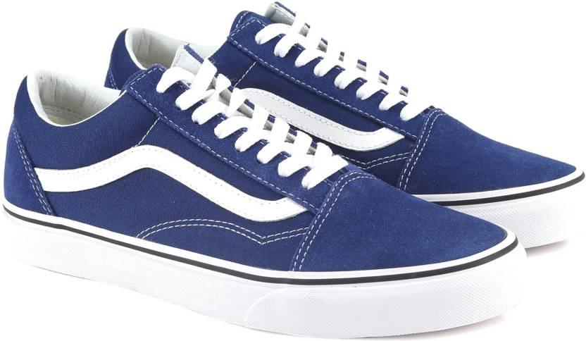 975bae2c9 Vans Old Skool Sneakers For Men - Buy estate blue/true white Color ...