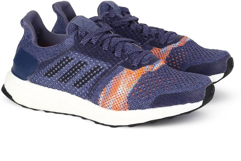 new arrival b6a98 f7683 ADIDAS ULTRABOOST ST W Running Shoes For Women (Blue)