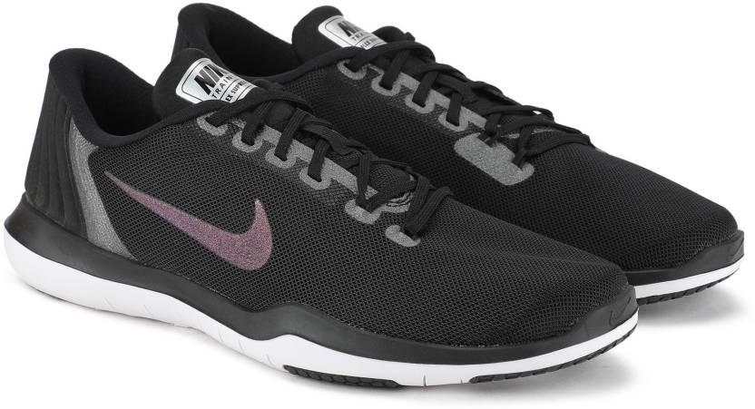 0c5782763e69 Nike W NIKE FLEX SUPREME TR 5 MTLC Walking Shoes For Women - Buy ...