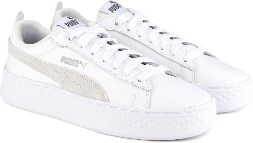 01577171b5f Puma Puma Smash Platform L Sneakers For Women - Buy Puma White-Puma ...