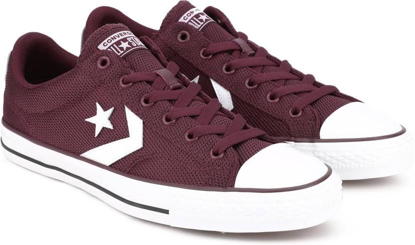 eeac20700fa042 Converse Star Player II Sneakers For Men - Buy DARK BURGUNDY WHITE ...