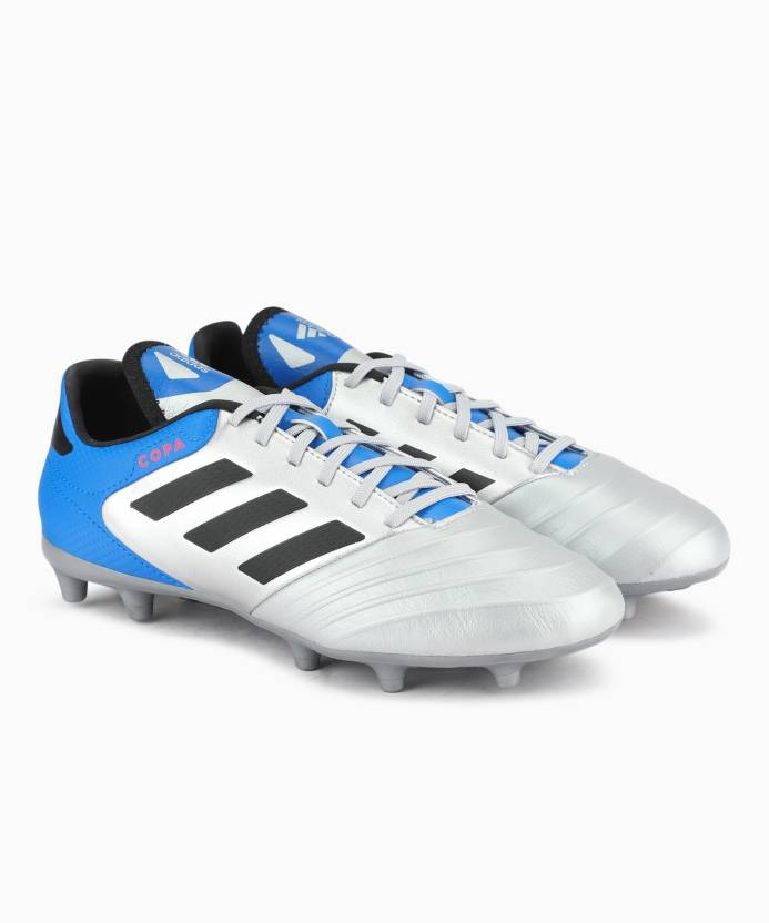 new product f8ae0 d5875 ADIDAS COPA 18.3 FG Football Shoes For Men (Silver)