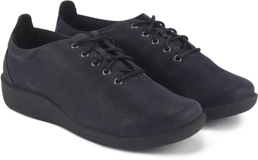 0909c46b9b036 Clarks Sillian Tino Navy Casuals For Women - Buy Navy Color Clarks ...