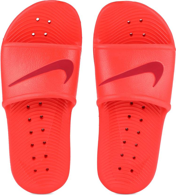 b53b59370a67 Nike WMNS KAWA SHOWER Slides - Buy HABANERO RED RED CRUSH Color Nike WMNS KAWA  SHOWER Slides Online at Best Price - Shop Online for Footwears in India ...