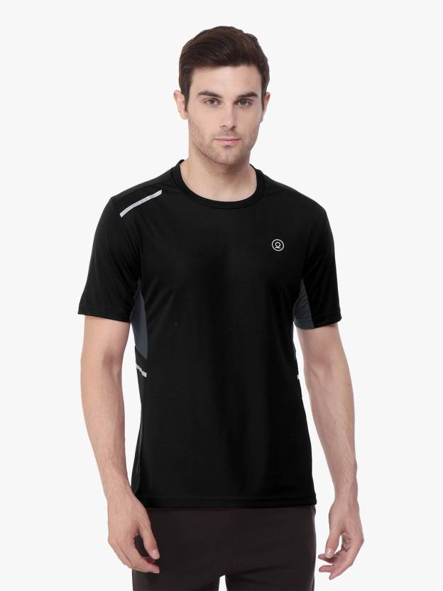 2134b907691e Chkokko Self Design Men Round Neck Black T-Shirt - Buy Chkokko Self Design Men  Round Neck Black T-Shirt Online at Best Prices in India | Flipkart.com