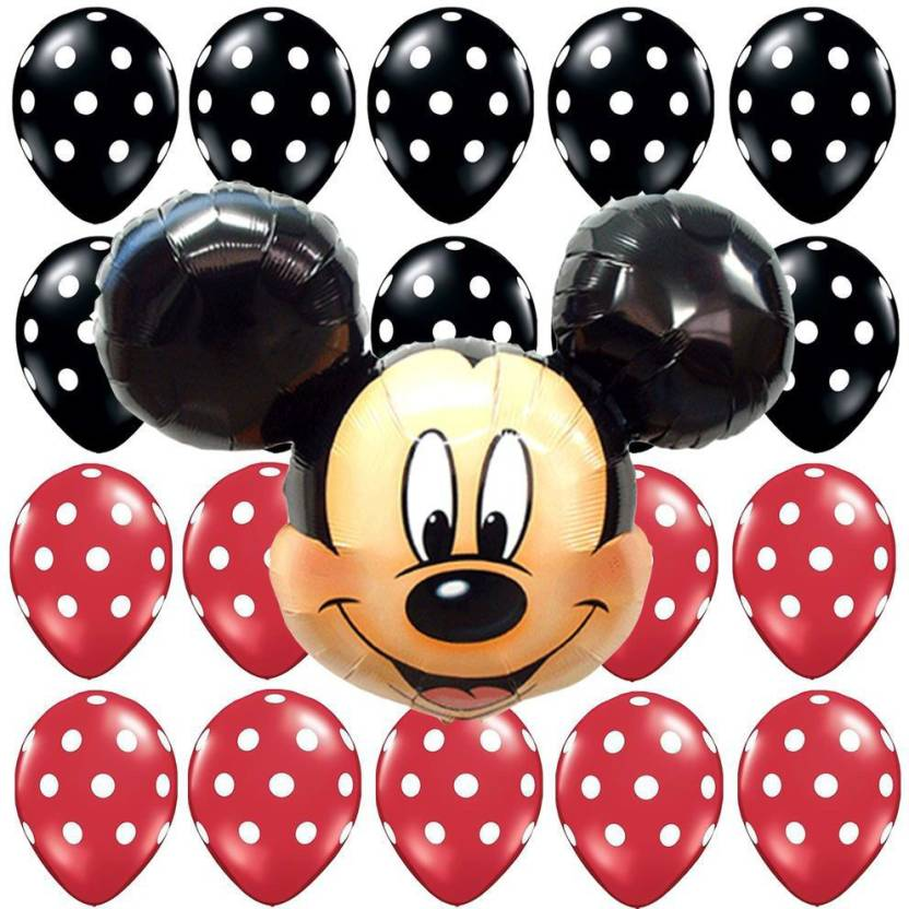 Flipkartcom Teple Printed Mickey Mouse Face Foil Balloons