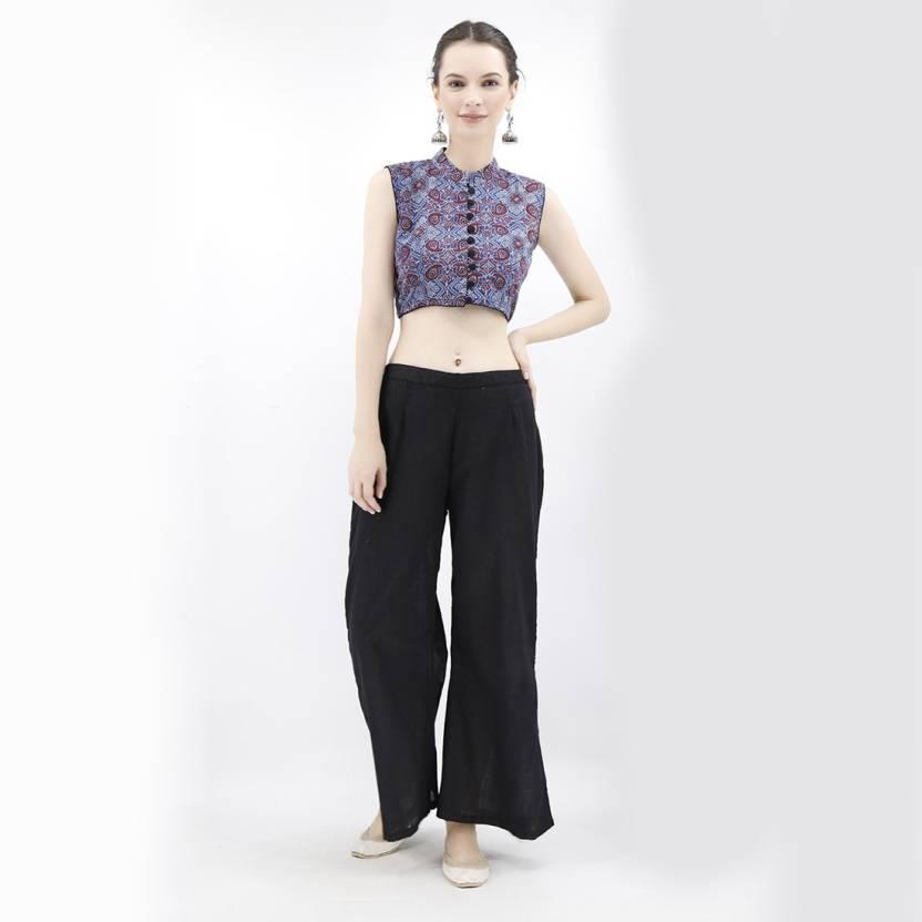 9298b834888685 TJORI Round Neck Women Stitched Blouse - Buy TJORI Round Neck Women  Stitched Blouse Online at Best Prices in India | Flipkart.com