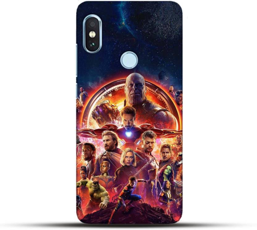buy popular 479cf 3229e Pikkme Back Cover for Avengers : Infinity War Xiaomi Redmi Note 5 ...
