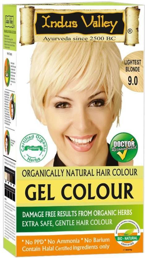 Indus Valley Organically Natural Gel Lightest Blonde 9 0 One